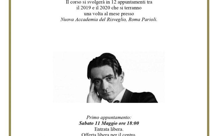 CORSO GRATUITO DI INTRODUZIONE ALL'ANTROPOSOFIA A ROMA