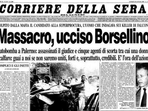 Borsellino: scortato la mattina, posso essere ucciso la sera (AUDIO ORIGINALE ED INEDITO REGISTRATO IN COMMISSIONE ANTIMAFIA NEL 1984)
