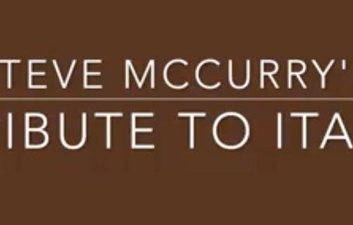 L'Omaggio di Steve McCurry all'Italia